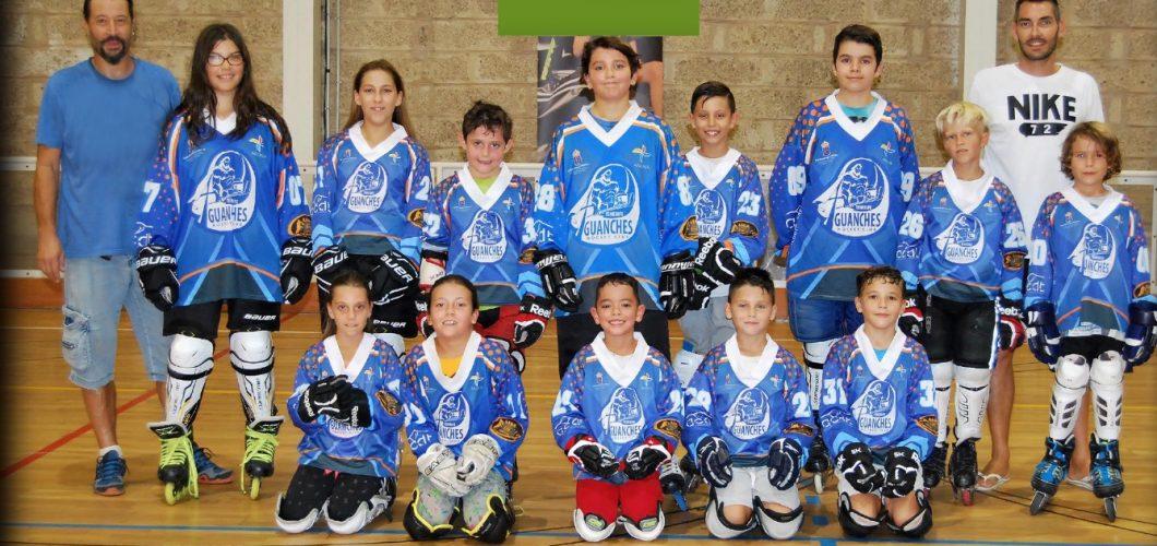 Kanali SA apoya al equipo alevín del Tenerife Guanche Hockey Club, que volverá a luchar por ascender a categoría nacional.