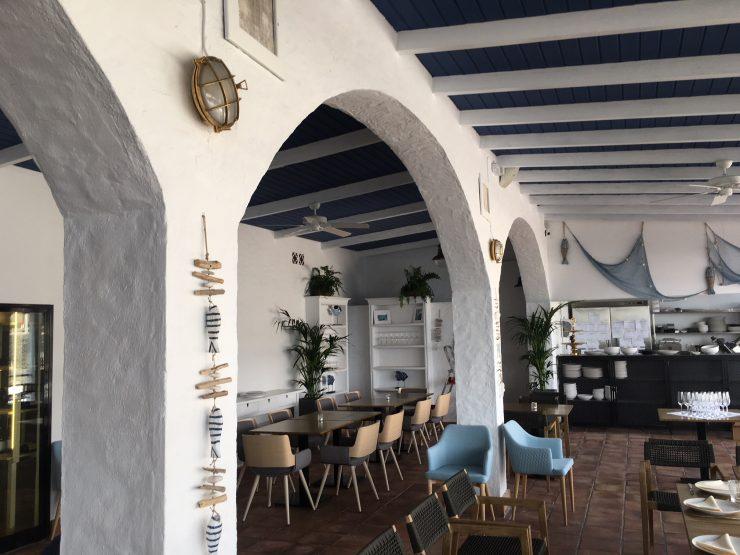 Abrimos el Restaurante Muelle Viejo, ubicado en la lonja de Alcalá